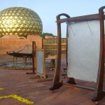 Russian Singing Bells with new Peace Bell in Matrimandir