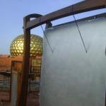 Peace Bell in Matrimandir