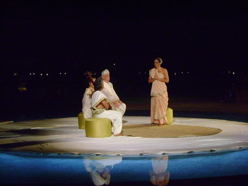 Photographer:Amadea | Scenes from Sri Aurobindo's Savitri - Meeting with Narad