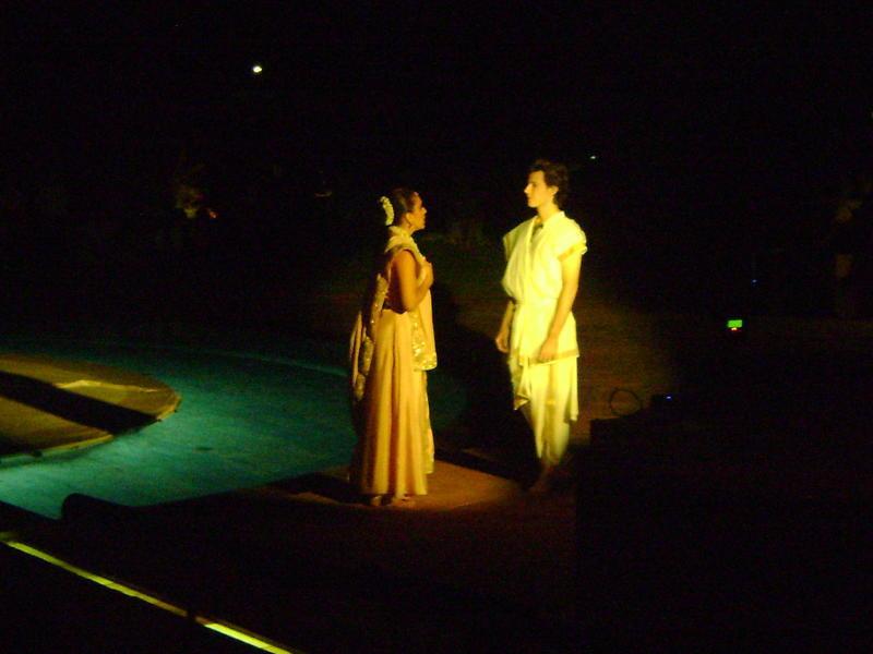 Photographer:Amadea | Scenes from Sri Aurobindo's Savitri - Meeting of the two, Savitri and Satyavan