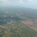 Auroville from the air 2002