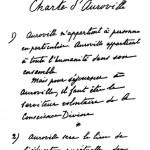 Auroville Charter- Original