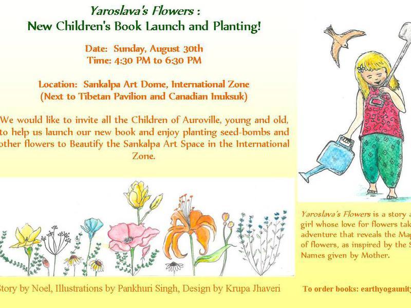 Photographer:web | YAroslava's Flowers, book launch on 20th at 4.30pm at Sankalapa Art Dome, IZ