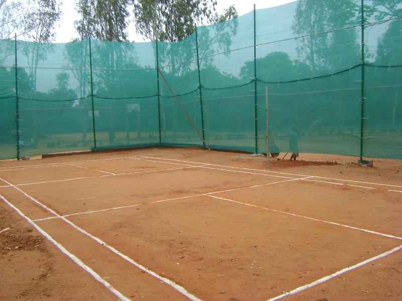 Photographer:Martha   Certitude - new  badminton court
