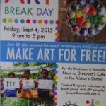 Art Break Day Friday 4th at Visiotrs Centre