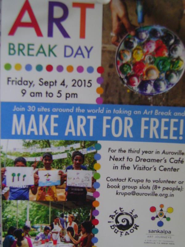 Photographer:Barbara | Art Break Day Friday 4th at Visiotrs Centre