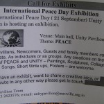 Peace Day Exhibition