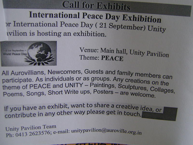 Photographer:web | Peace Day Exhibition
