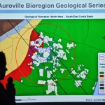 Giulio explaing geological data