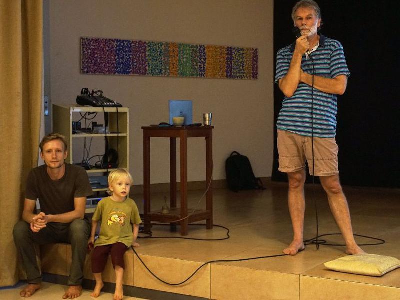 Photographer:Giorgio Molinari   Slava his son and Michael