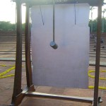 The Peace Bell at Matrimandir on 15th of August 2015