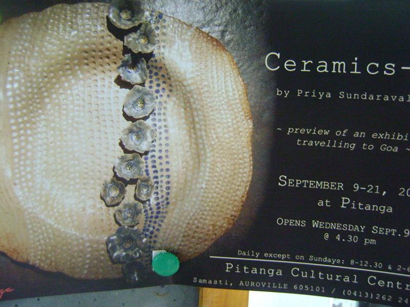 Photographer:Amadea | Ceramics III by Priya at Ptianga Wednesday 9th