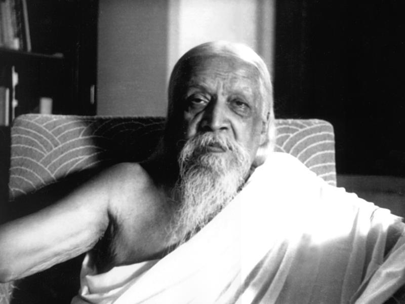 Photographer:Sri Aurobindo Ashram-Henri Cartier Bresson | Sri Aurobindo