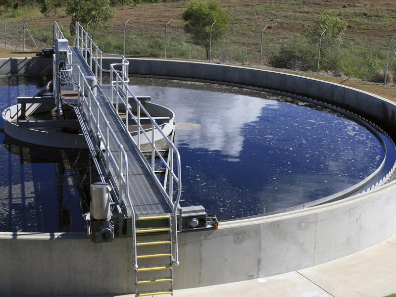 Photographer:http://www.kwl.ca | Waastewater treatment