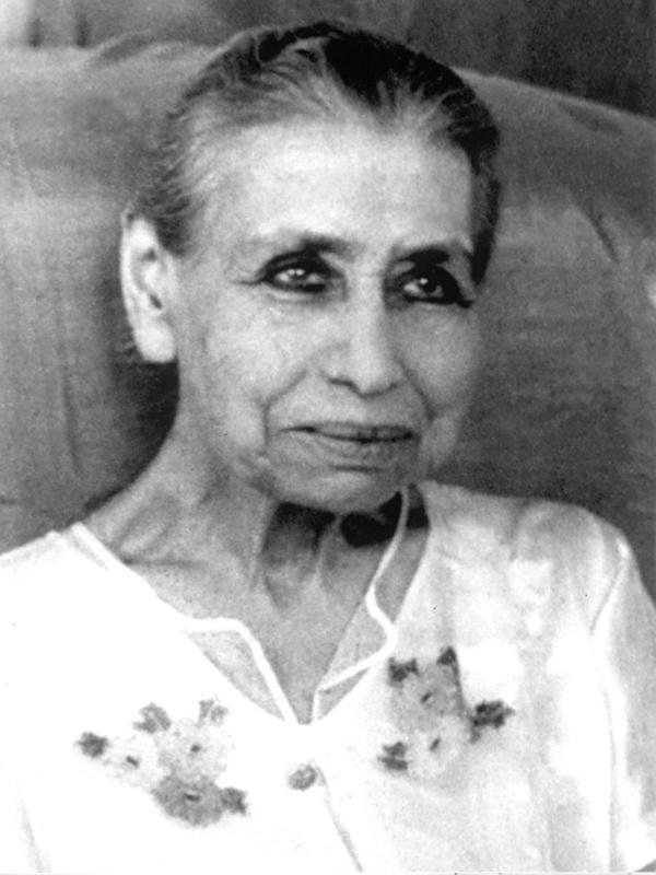 Photographer:Courtesy of Sri Aurobindo Ashram | The Mother
