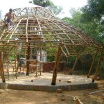 Africa House - community hall in construction