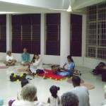 Hindustani bamboo flute recital by Chandra, Bryce and Devi