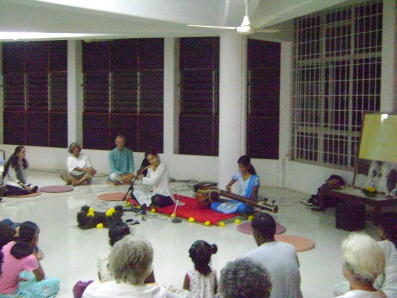 Photographer:Breena | Hindustani bamboo flute recital by Chandra, Bryce and Devi