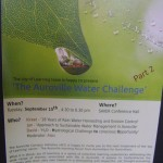 Water Challenge Part 2 Tuesday 15th  at 4.30pm SAIIER
