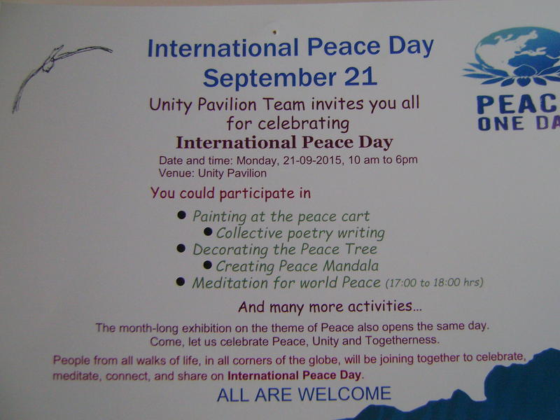 Photographer:Medea | World Peace Day 21st of September at UP and Tibetan Pavilion