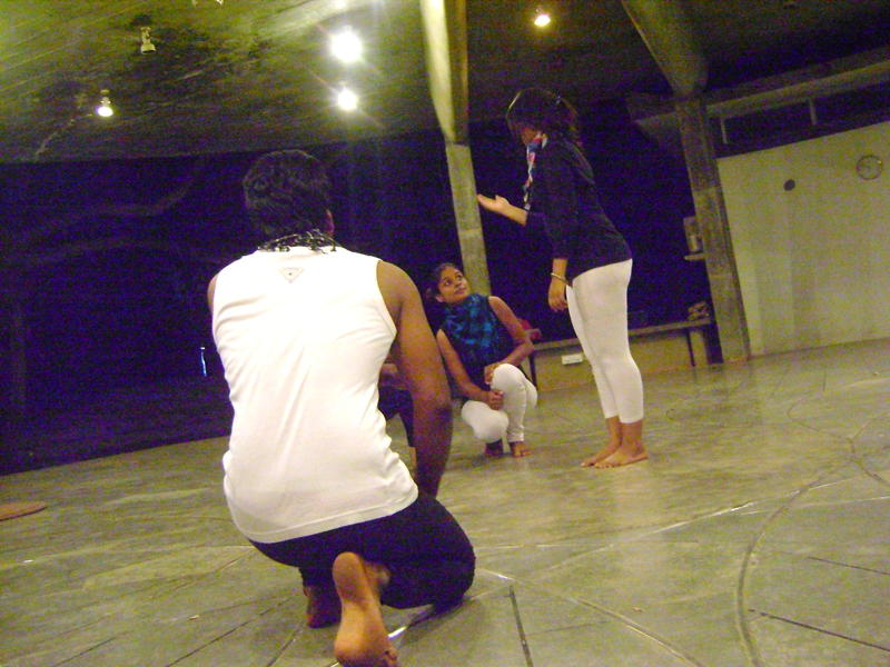 Photographer:Beatrice   Mime performance
