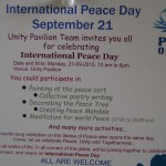 World Peace Day at Unity Pavilion