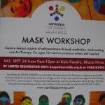 Mask Workshop by Sankalpa