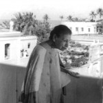 Mother at Darshan