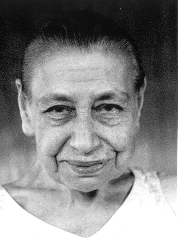 Photographer:Sri Aurobindo Ashram Archive | Portrait of Mother