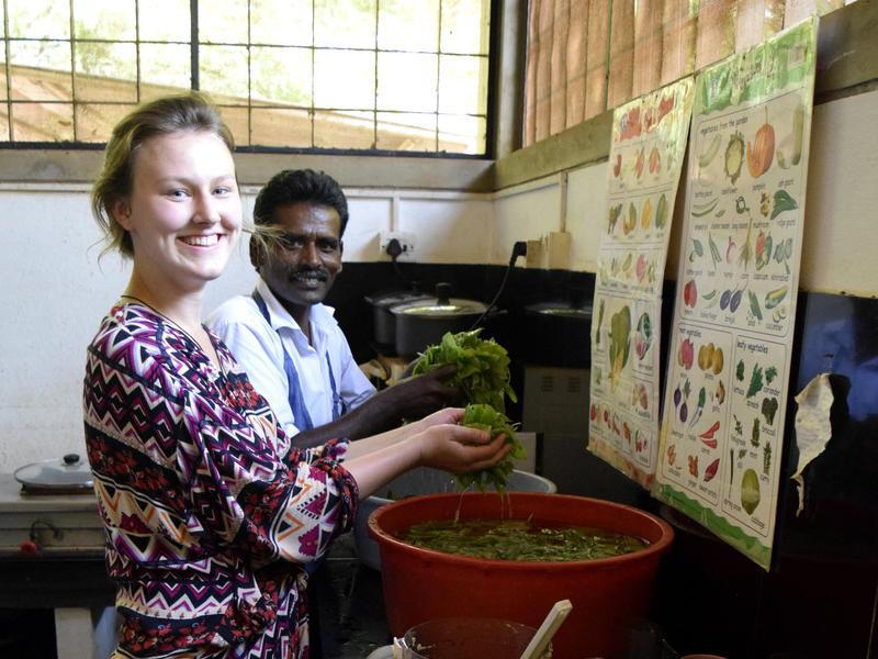 Photographer:Samira Bose | Volunteers from Buddha Garden
