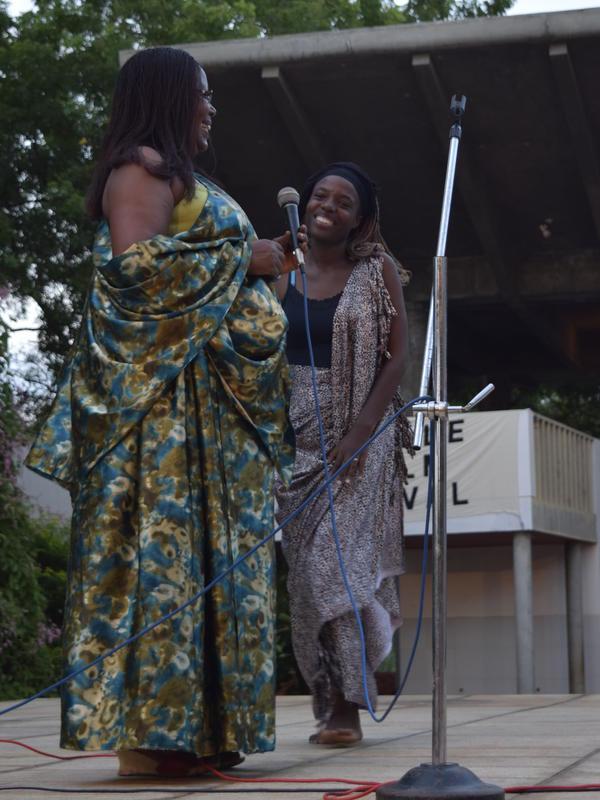 Photographer:Samira | AVFF15 official opening at Town Hall Plazza Rwnandan song