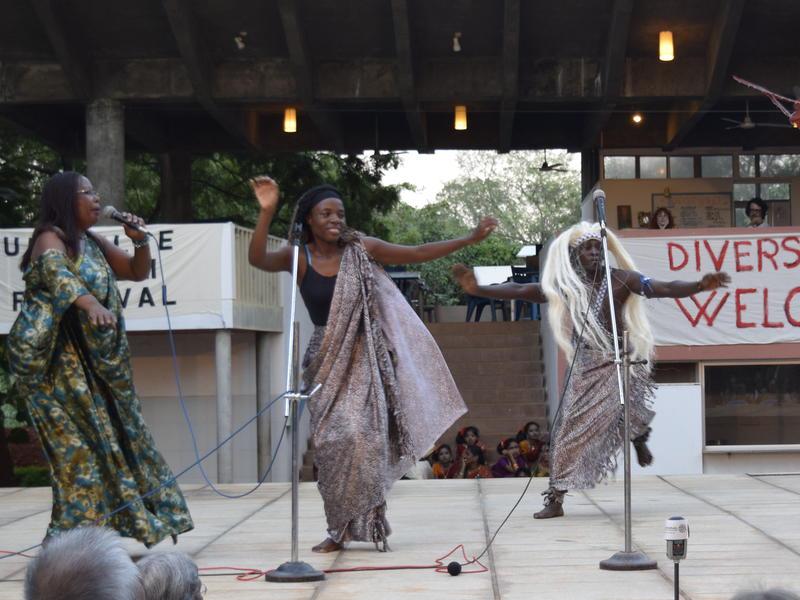 Photographer:Samira | AVFF15 official opening at Town Hall PlazzaRwandand dance