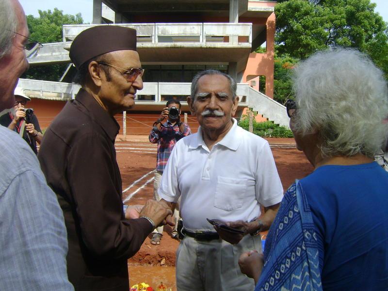 Photographer:Renu | Gilles, Dr Karan Singh, General Tiwari, Mrs Aster Patel