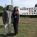 Suresh Jairam and Samira at the AVFF