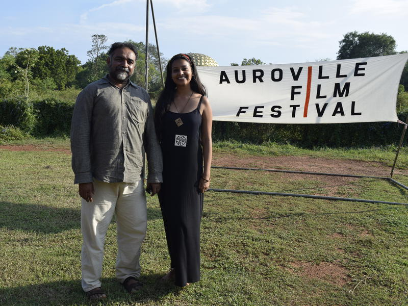 Photographer:renu | Suresh Jairam and Samira at the AVFF