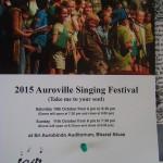 AV Singin Festival on Saturday and Sunday