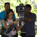 Anand Cine Service with equipment for the students