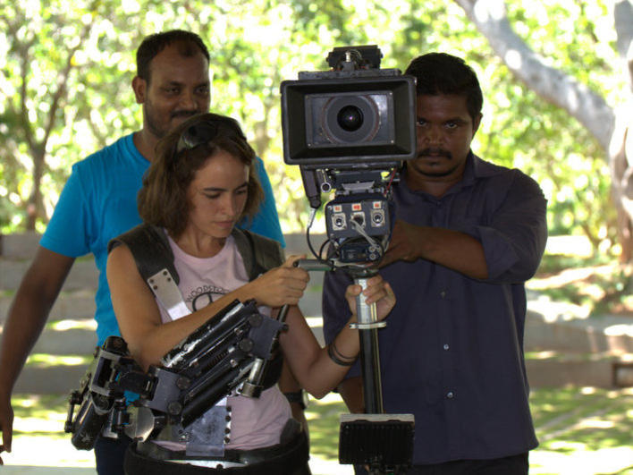 Photographer:Sanjay M | Anand Cine Service with equipment for the students