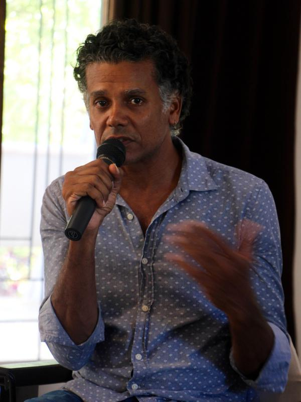 Photographer:Roland | Sasi moderating the panel discussions