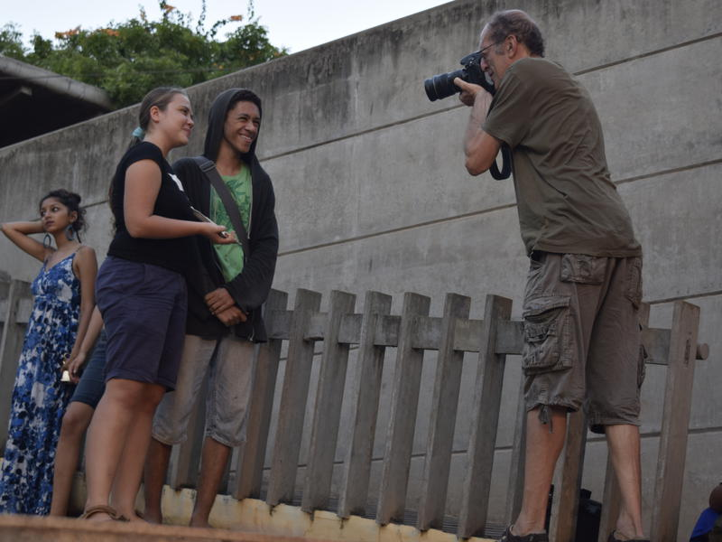 Photographer:Samira | AVFF15 closing ceremony - Masha and Antonio, Marco Saroldi is taking photo of Antonio and Masha