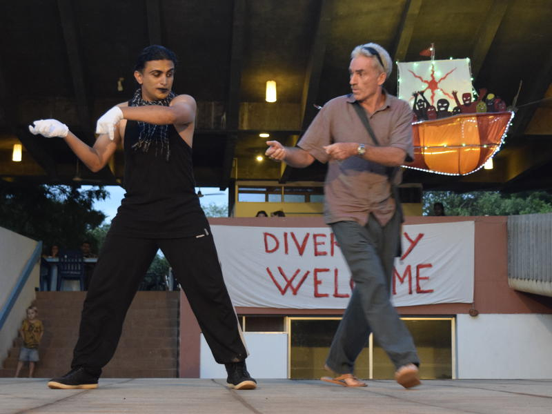 Photographer:Samira | AVFF15 closing ceremony Mime act by Drupad