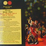 Garba Dance Festival 2015 at SAWCHU, Bharat Nivas, Pavilion of India