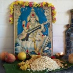 Saraswathi Puja in Auroville