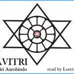 Mother's Symbol in Sri Aurobindo's Symbol, designed by Mother