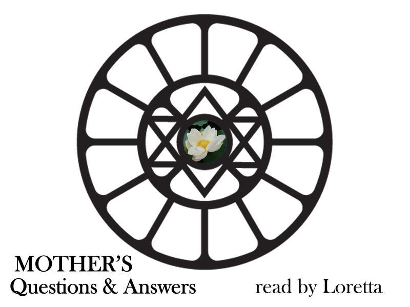 Photographer:Loretta   Sri Aurobindo's Symbol In Mother's Symbol, Designed By Mother