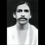 Sri Aurobindo, 1910, First photo after coming to Pondicherry.