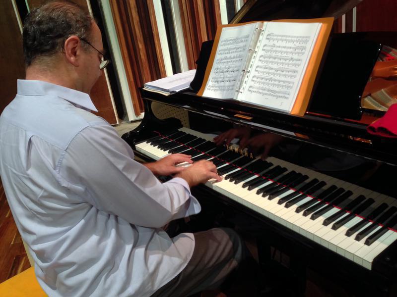 Photographer:Andrea | Maestro Stefano Ragni at the piano