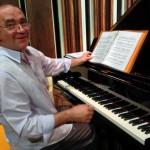 Stefano Ragni preparing the perfomance
