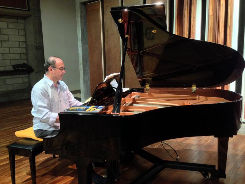 Photographer:Andrea | Stefano Ragni playing the piano CRIPA