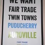 Fair Trade Twin Towns - Pondicherry Auroville